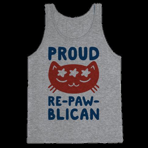 Proud Repawblican Tank Top