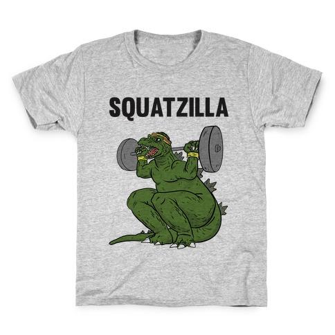 Squatzilla Kids T-Shirt