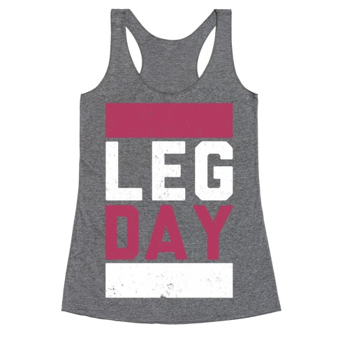 Leg Day Racerback Tank Top