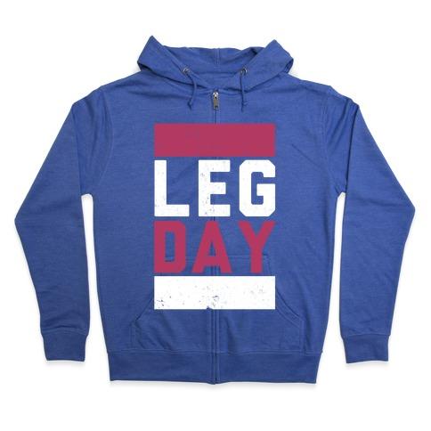 Leg Day Zip Hoodie