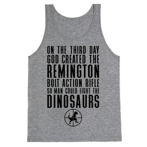 The Remington Bolt Action Rifle Tank Top