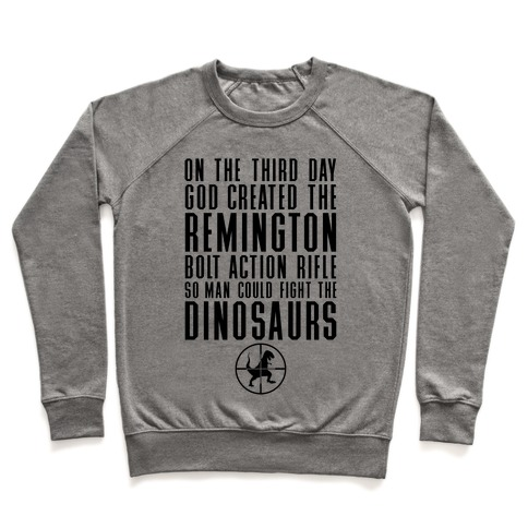 The Remington Bolt Action Rifle Pullover
