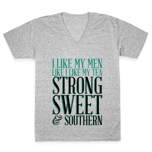 Sweet Tea V-Neck Tee Shirt
