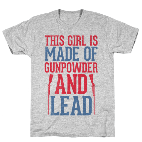 Gunpowder and Lead Mens T-Shirt