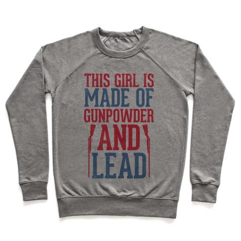 Gunpowder and Lead Pullover