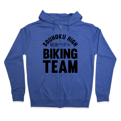 Souhoku High Biking Team Zip Hoodie