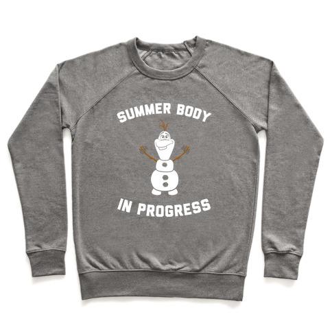 Summer Body in Progress Pullover