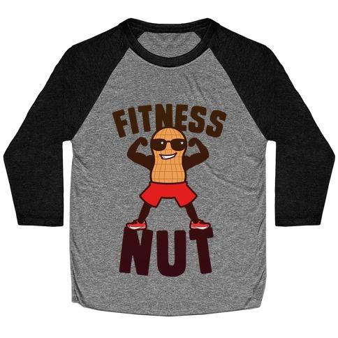 Fitness Nut Baseball Tee