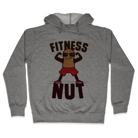Fitness Nut Hooded Sweatshirt