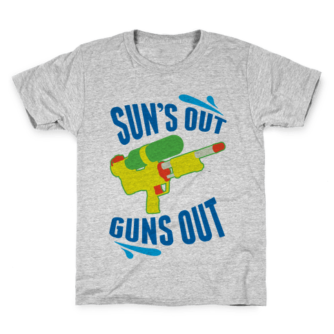Suns Out, Guns Out Kids T-Shirt