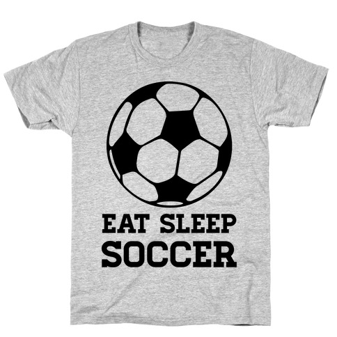 Eat Sleep Soccer Mens T-Shirt