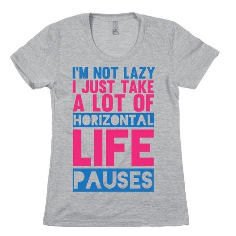 Not Lazy Womens T-Shirt