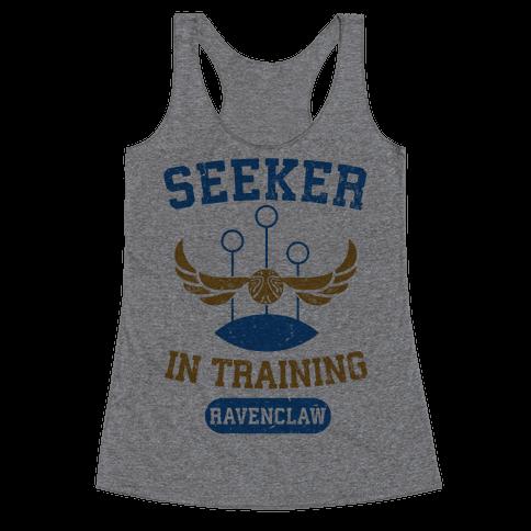 Seeker In Training (Ravenclaw) Racerback Tank Top