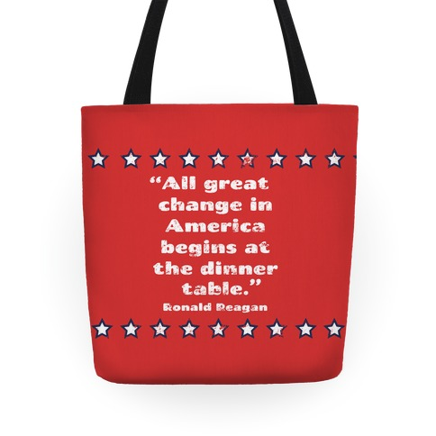 Great Change in America Tote