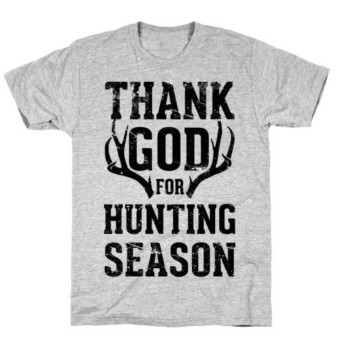 Thank God For Hunting Season T-Shirt