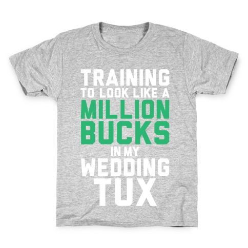 Training For The Tux Kids T-Shirt