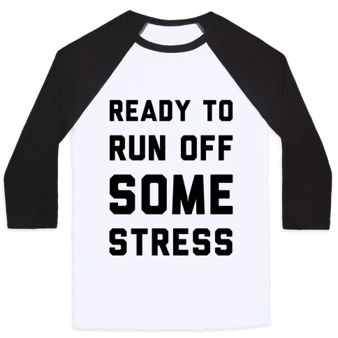 Ready To Run Baseball Tee