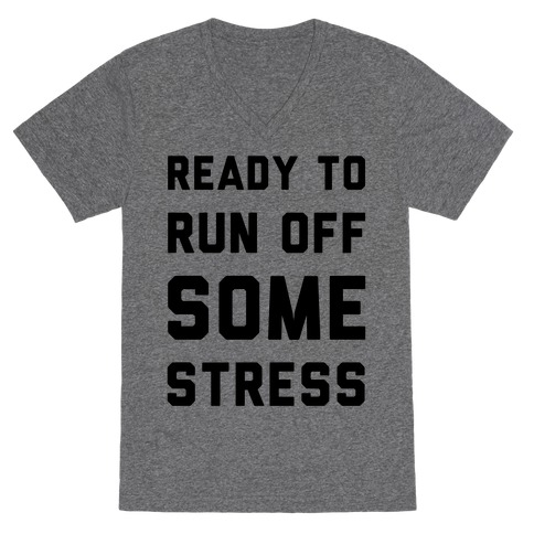 Ready To Run V-Neck Tee Shirt