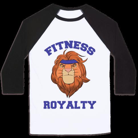 Fitness Royalty Baseball Tee