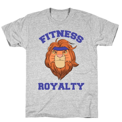 Fitness Royalty Mens T-Shirt