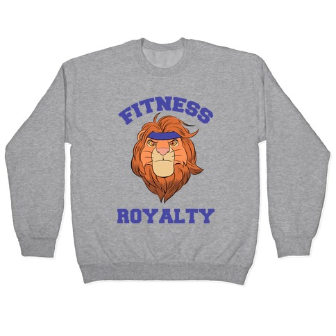 Fitness Royalty Pullover