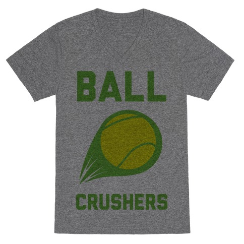Ball Crushers V-Neck Tee Shirt