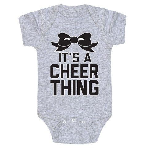 It's a Cheer Thing Baby Onesy