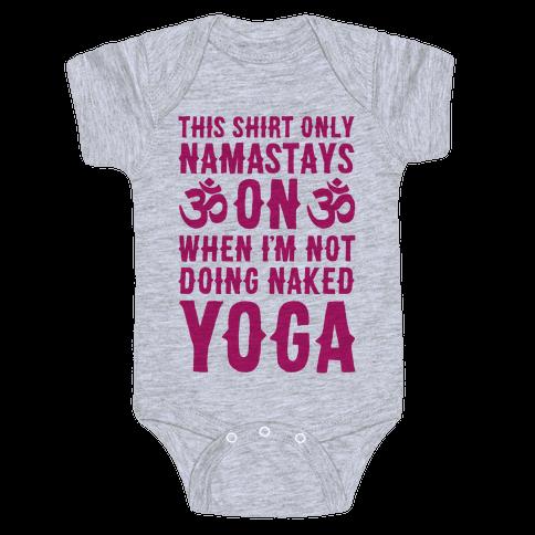 Naked Yoga Baby Onesy