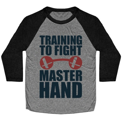 Training To Fight Master Hand Baseball Tee
