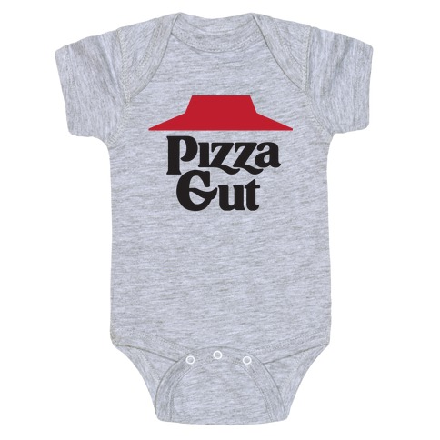 Pizza Gut Baby Onesy