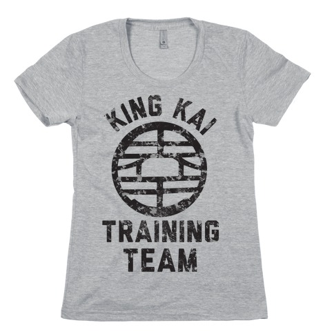 King Kai Training Team Womens T-Shirt