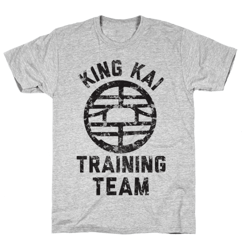 King Kai Training Team Mens T-Shirt
