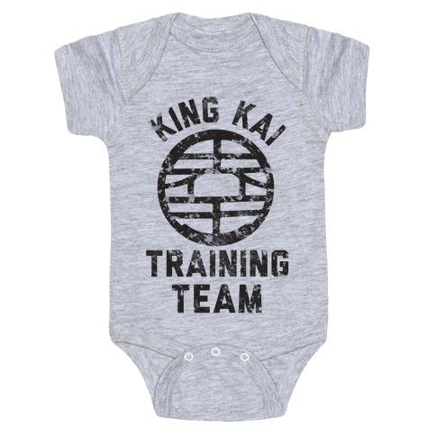 King Kai Training Team Baby Onesy