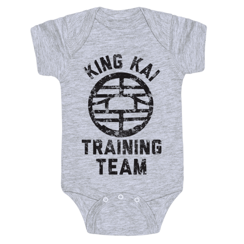 King Kai Training Team Baby Onesy