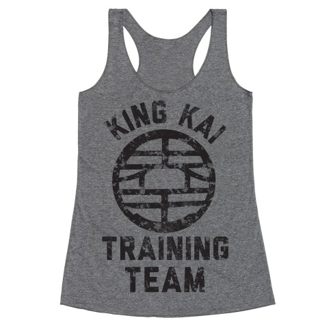 King Kai Training Team Racerback Tank Top