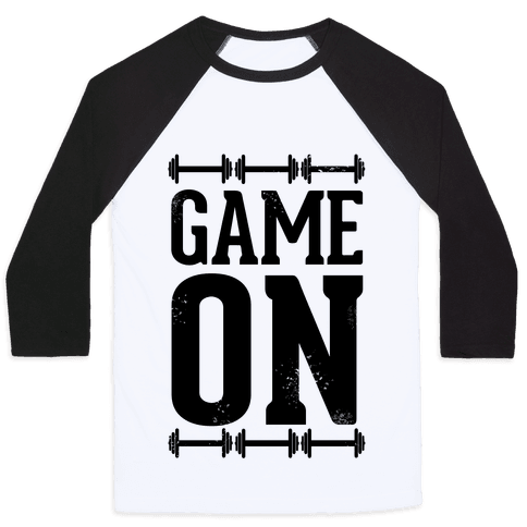 Game On Baseball Tee