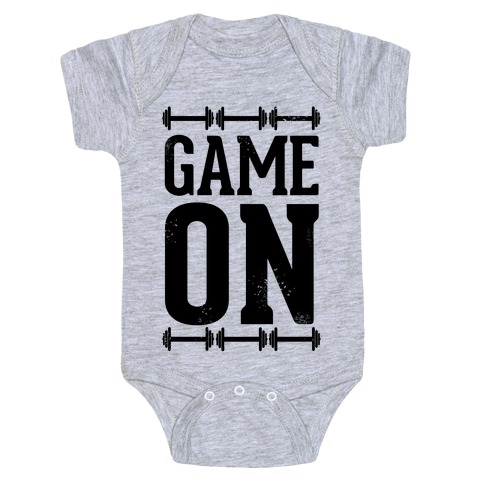 Game On Baby Onesy