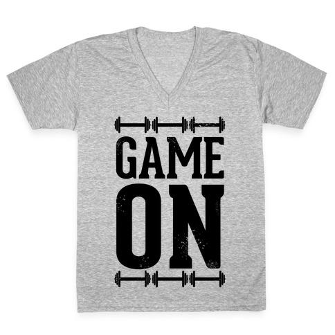 Game On V-Neck Tee Shirt