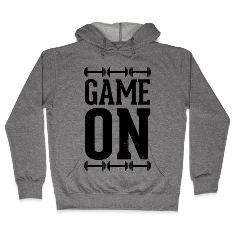Game On Hooded Sweatshirt
