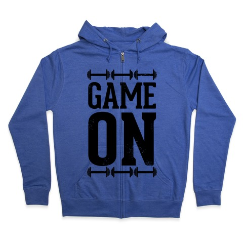 Game On Zip Hoodie