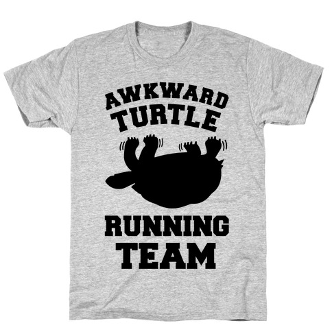 Awkward Turtle Running Team T-Shirt