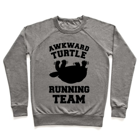 Awkward Turtle Running Team Pullover