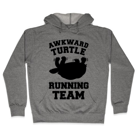 Awkward Turtle Running Team Hooded Sweatshirt