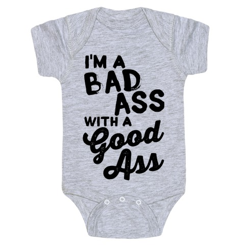 Bad ass baby clothes speaking