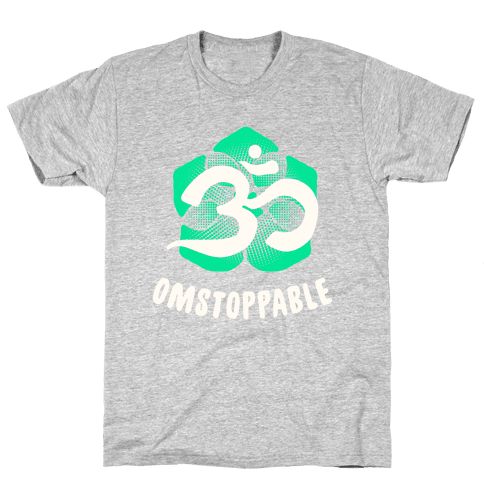 Omstoppable Mens/Unisex T-Shirt