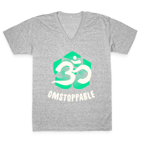 Omstoppable V-Neck Tee Shirt