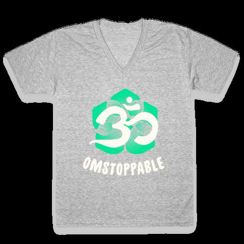 Omstoppable V-Neck Tee Shirt