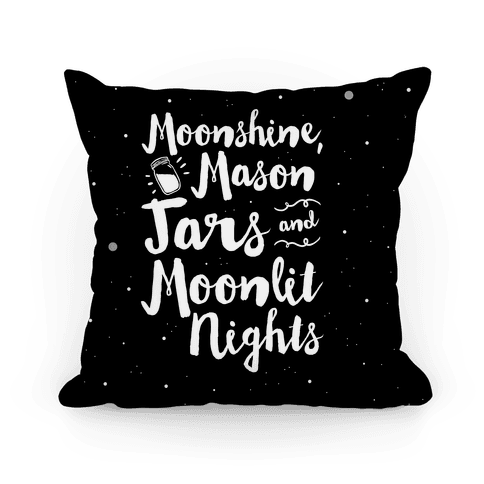 Moonshine, Mason Jars and Moonlit Nights