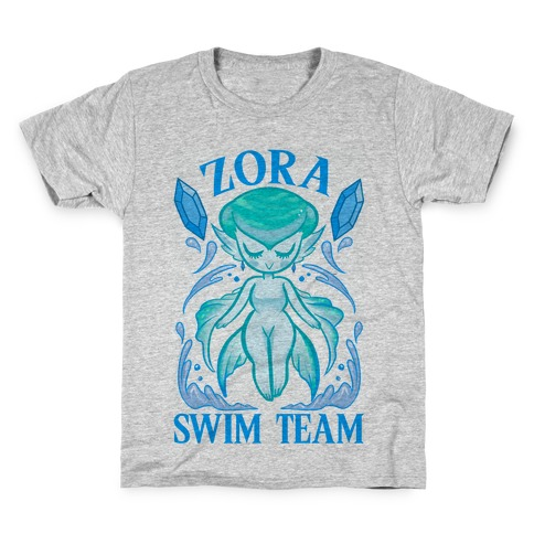 Zora Swim Team Kids T-Shirt