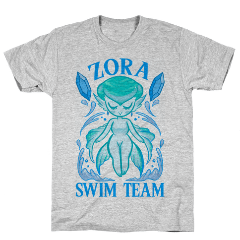 Zora Swim Team Mens T-Shirt